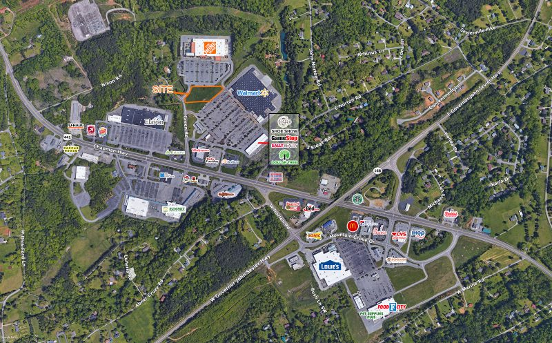 knoxville tn commercial retail property availabe